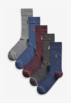 5PACK - Socks - dark blue