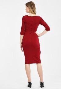 Collectif - CHANTELLE - Cocktail dress / Party dress - burgundy - 2