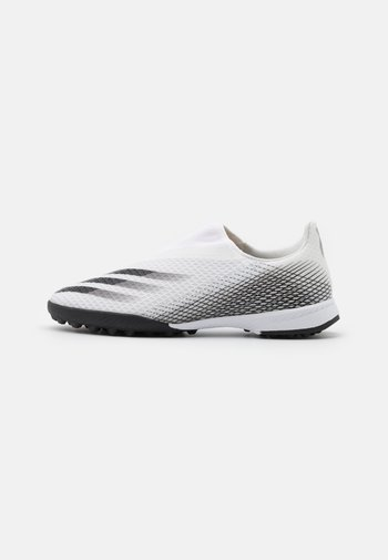 X GHOSTED FOOTBALL BOOTS TURF UNISEX - Astro turf trainers - footwear white/core black