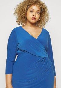 Lauren Ralph Lauren Woman - CLEORA  DAY DRESS - Shift dress - dark cerulean - 4