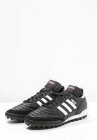 adidas Performance - MUNDIAL TEAM - Botas de fútbol multitacos - black/running red/white - 2
