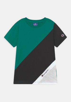 SPORTLEISURE CREWNECK UNISEX - T-shirt basique - green/black/white
