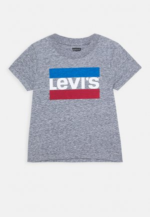 SPORTSWEAR LOGO - T-shirt imprimé - dress blues snow yarn