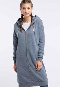 myMo - Zip-up hoodie - marine melange - 0