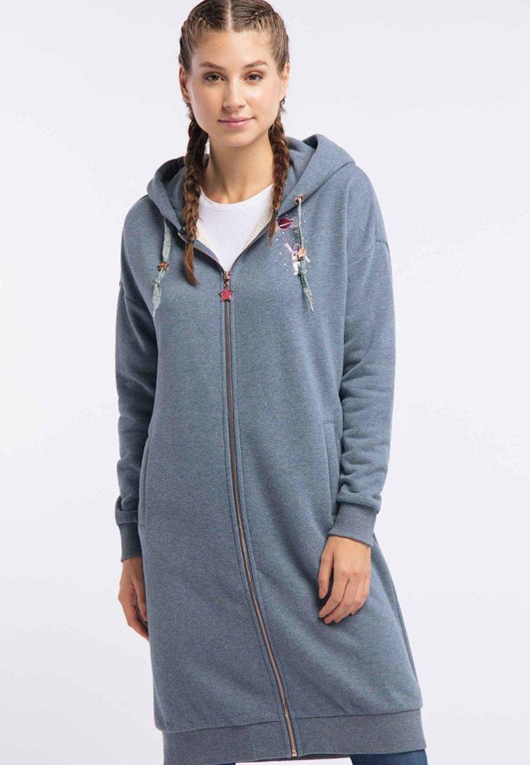 myMo - Zip-up hoodie - marine melange