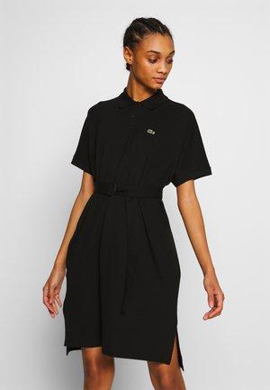 DAMEN GÜRTEL - Denní šaty - black