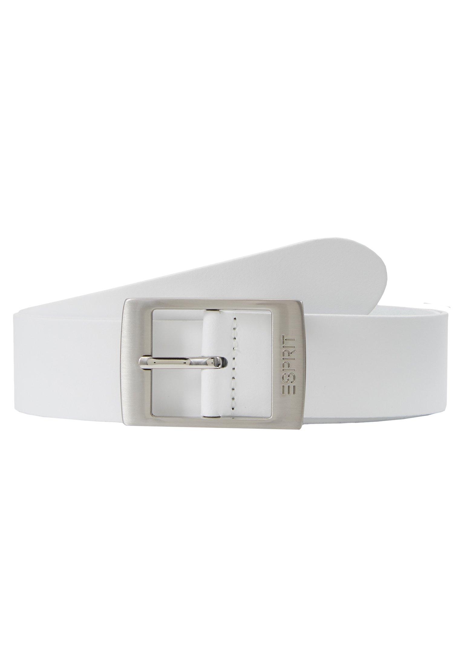 Esprit XOCTAVIA - Belte - white/hvit wOsSwqLJJ39S7Do