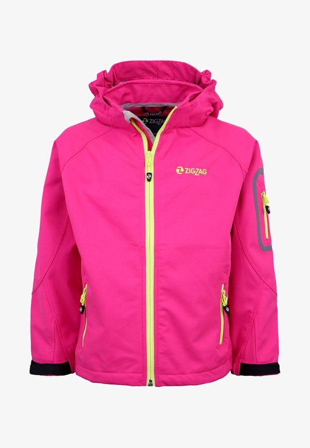 Soft shell jacket - pink