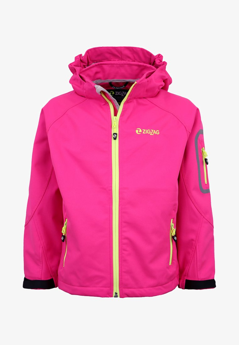 ZIGZAG - Soft shell jacket - pink