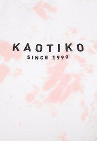 Kaotiko - SUD CAP TIE DYE STAIN UNISEX - Sweatshirt - pink - 5