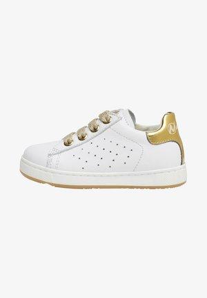 NATURINO HASSELT ZIP - Baby shoes - white