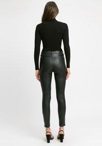 Kookai - Leather trousers - z2-noir - 1