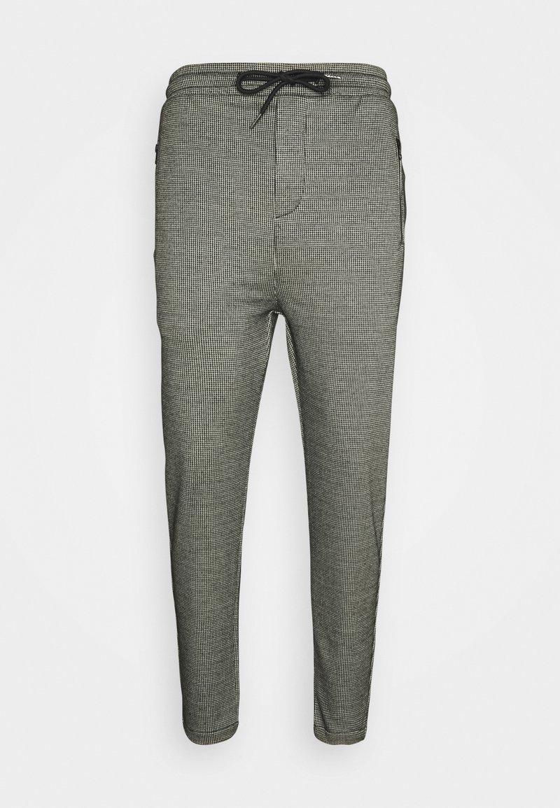 Denim Project - PANTS CROPPED - Trousers - black