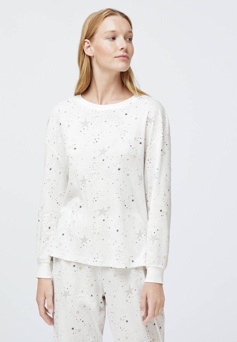 OYSHO - STAR  - Nattøj trøjer - white