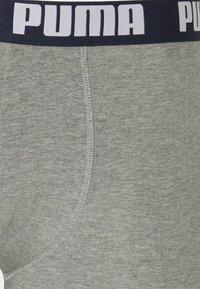Puma - BASIC BOXER 2 PACK - Culotte - blue/grey melange - 3