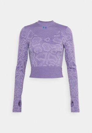 RUSH SEAMLESS - Long sleeved top - purple