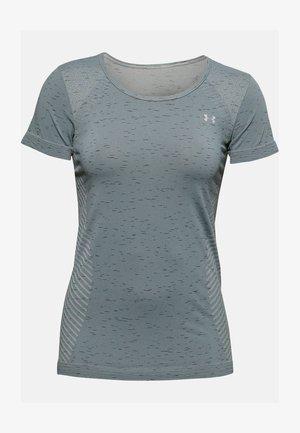 Print T-shirt - hushed turquoise