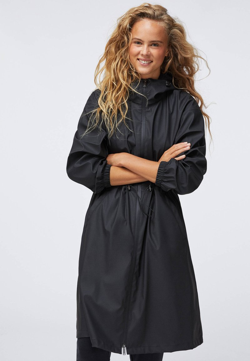 OYSHO - Waterproof jacket - black