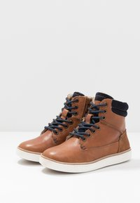 Friboo - Sneakersy wysokie - brown - 3