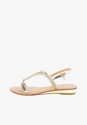 ALBAREDA - Sandals - platinum