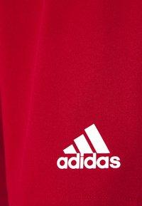 adidas Performance - SQUADRA - Sports shorts - team power red/white - 5