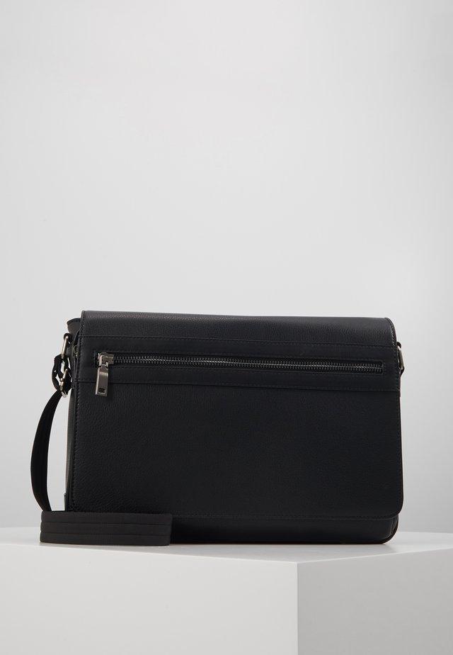 LARALELLAN - Sac bandoulière - jet black