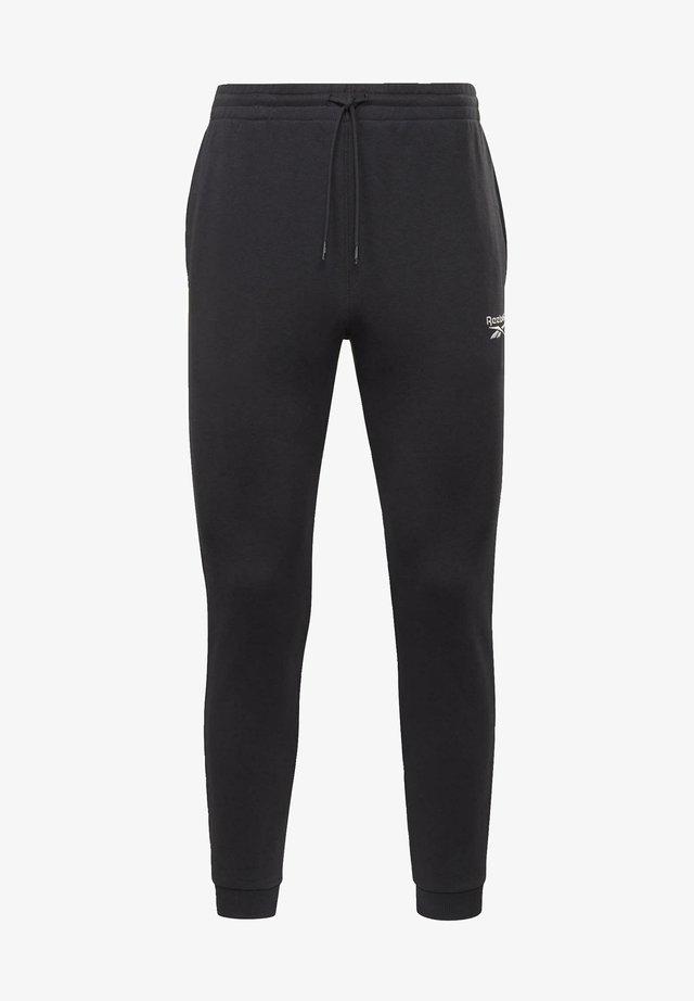 SMALL LOGO ELEMENTS JOGGER PANTS - Pantaloni sportivi - black