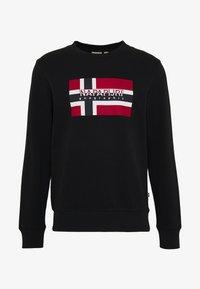 BOVICO CREW NECK - Sweatshirt - black