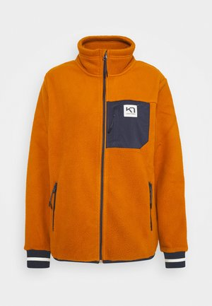 RØTHE MIDLAYER - Fleece jacket - hazel