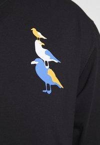 Cleptomanicx - BREMEN GULLS - T-shirt z nadrukiem - black - 2