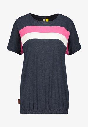 DINAAK - Print T-shirt - marine