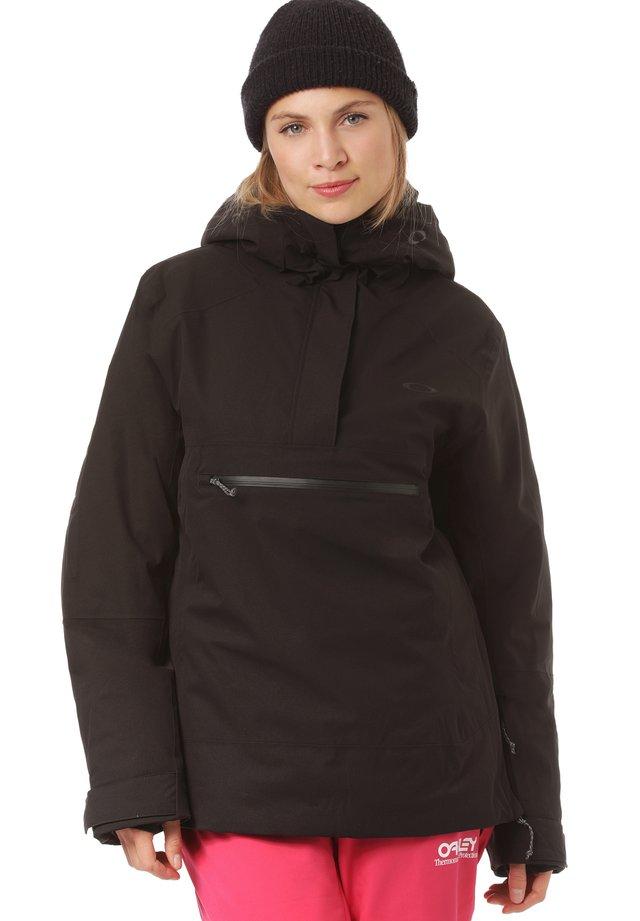 IRIS INSULATED ANORAK - Snowboard jacket - blackout