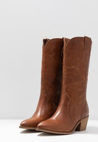 RE:DESIGNED - RYLEE - Cowboy/Biker boots - cognac - 4
