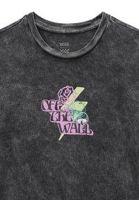 Vans - WM OFF THE GRID OS S/S - Print T-shirt - black - 2