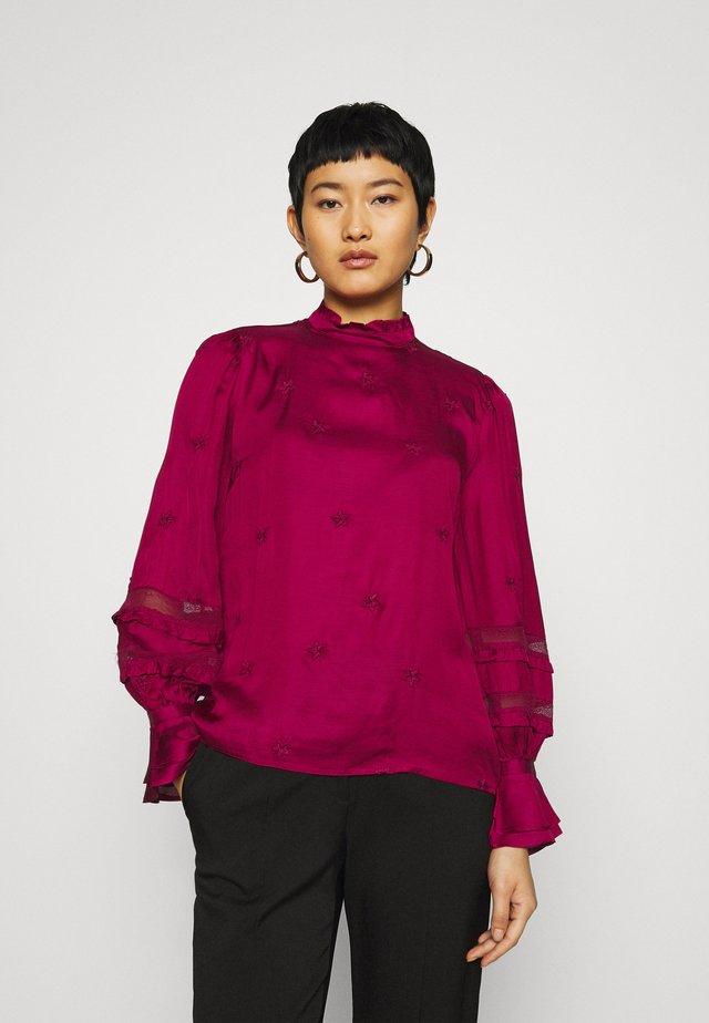 Maglietta a manica lunga - purple sky
