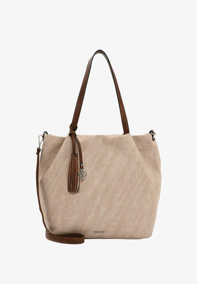ELKE - Shopping bag - sand