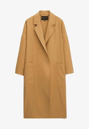Klasyczny płaszcz - brown