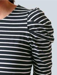 Alba Moda - Long sleeved top - black, white - 3