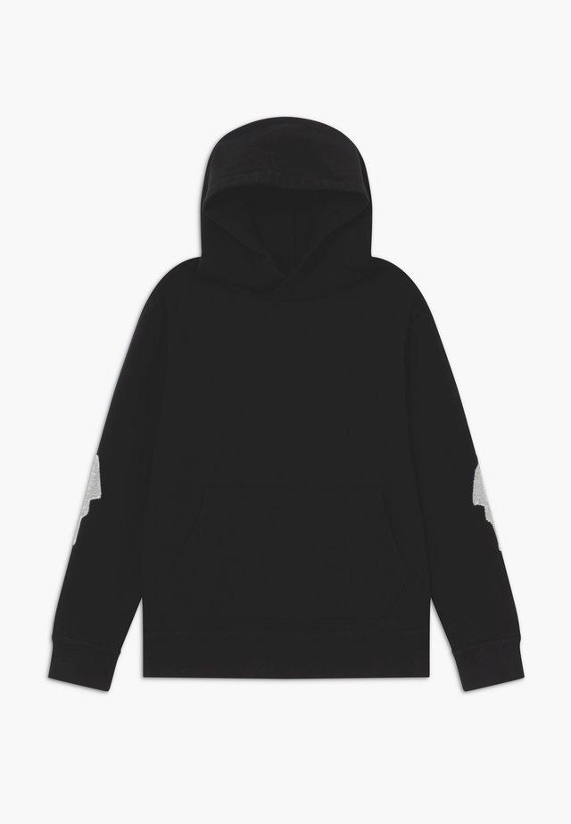 LIGHTNING BOLT SLEEVE HOODIE - Jersey con capucha - black