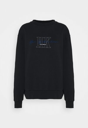 BULKY CREW - Sweatshirt - faded black
