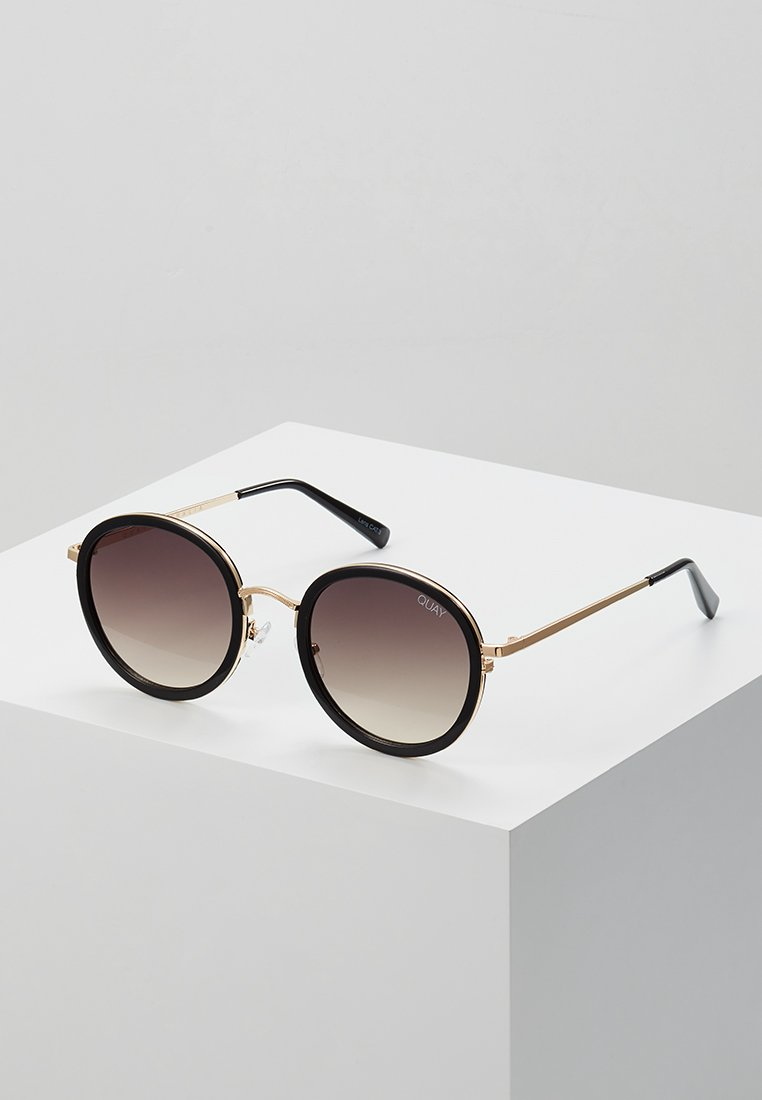 QUAY AUSTRALIA - FIREFLY - Sunglasses - black/gold