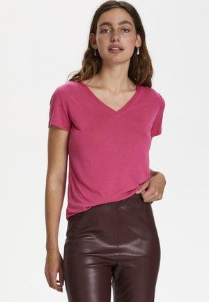 SL COLUMBINE - Basic T-shirt - pink peacock