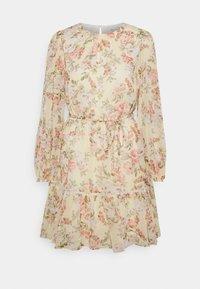 Forever New - KATIE TIERED SKATER DRESS - Robe d'été - vintage lemon - 0