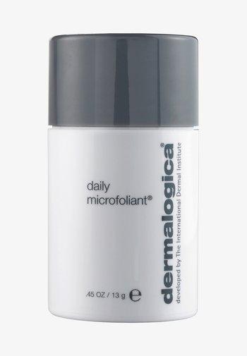 DAILY MICROFOLIANT  - Face scrub - -