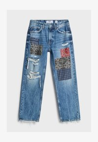 Bershka - Jeans baggy - blue denim - 4