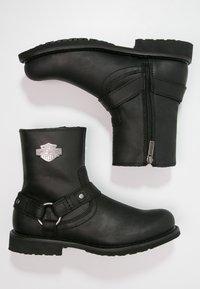 Harley Davidson - Cowboy/biker ankle boot - black - 1