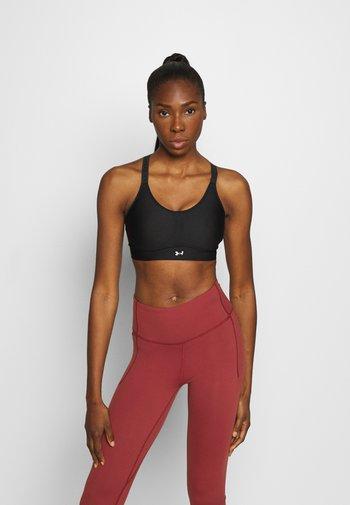 INFINITY COVERED - Medium support sports bra - black