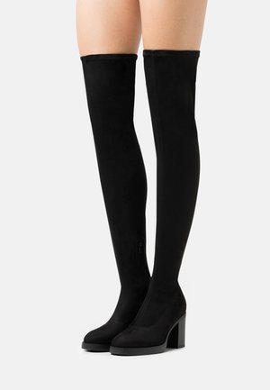 ONLBUBBLE - High heeled boots - black
