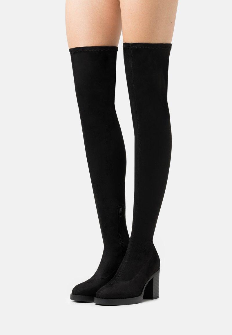 ONLY SHOES - ONLBUBBLE - Boots med høye hæler - black