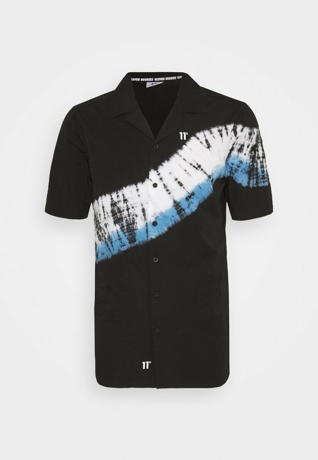 TIE DYE RESORT - Camicia - black